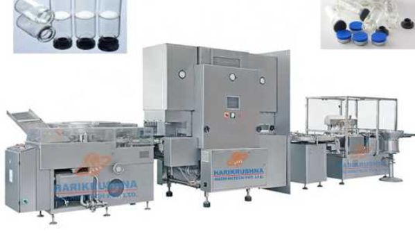 Offering injectable vial liquid packaging line & ampoule packing line