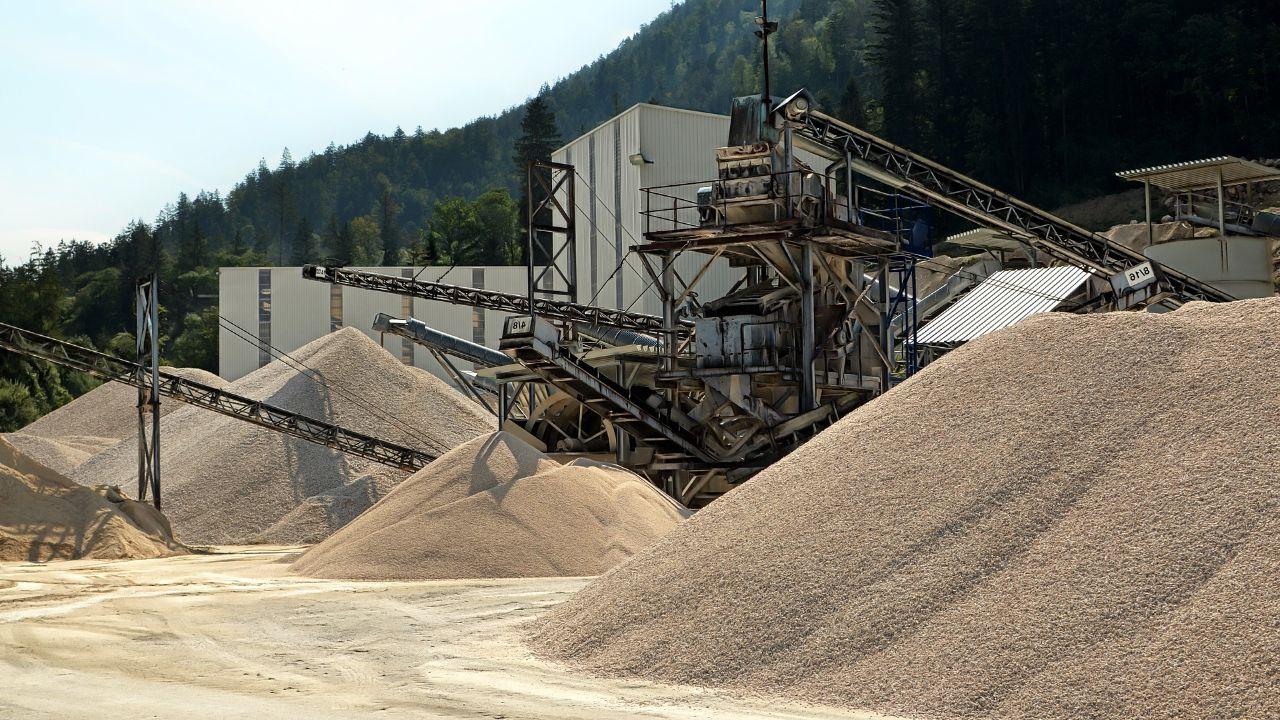 OFFER mining river inert materials
