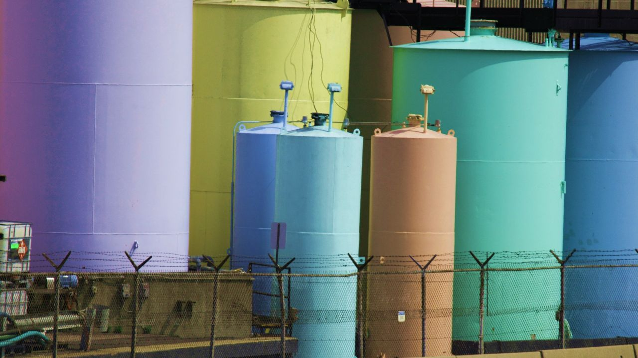 Offering products for storage and treatment of chemicals